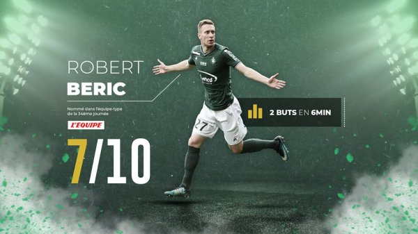 ASSE 2-1 ESTAC : signé ROBERT BERIC ! .