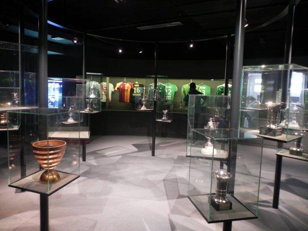 Une journée bien remplie, maintenant c'est la visite du Musée des VERTS.