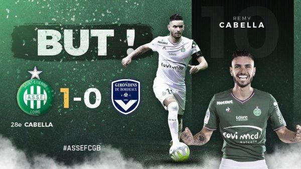 ASSE 1-3 Bordeaux : fin de série. mauvaise opération pour l'Europe.