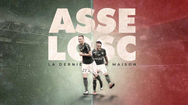 ASSE * LILLE du 19 mai 2018 comptant pour la 38ème journée de championnat de ligue 1.