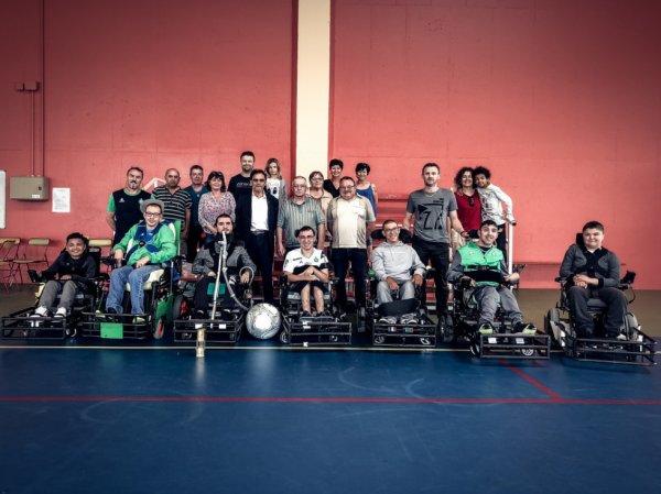ROLAND ROMEYER rend hommage à l'équipe Coeur-Vert Eovi.