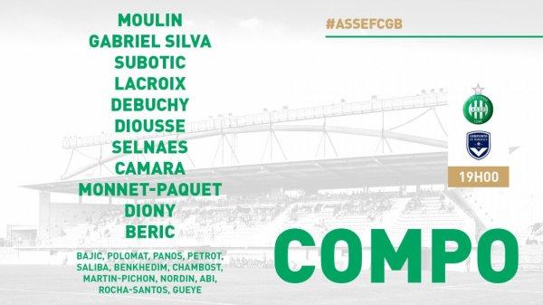 ASSE - BORDEAUX du 21 juillet 2018 match amical.