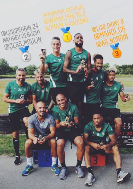 ASSE - GUINGAMP du 11 août 2018 comptant pour la 1ière journée de championnat de ligue 1.