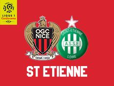 OGC - NICE * ASSE du 15 décembre 2018 comptant pour la 18ème journée de championnat de ligue 1.