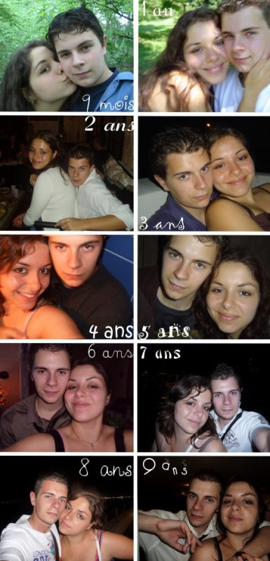 9 ans ♥