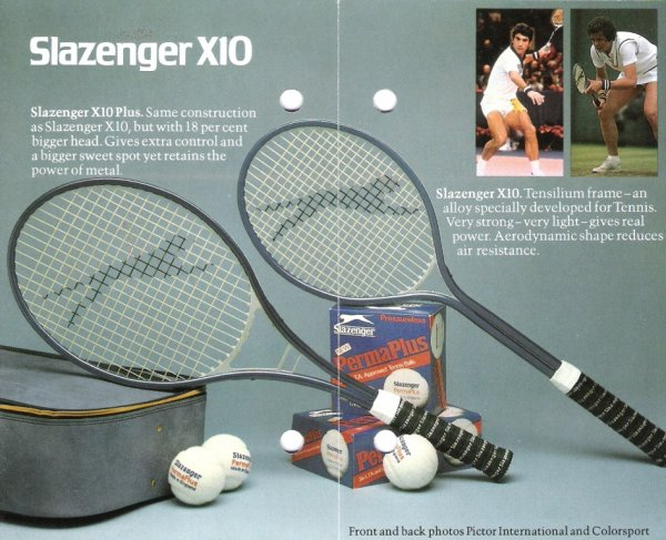 Slazenger X10Plus