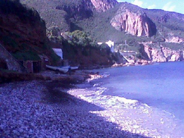 """au bord de la mer a """"TIPAZA""""plage  montagne chinwa"""