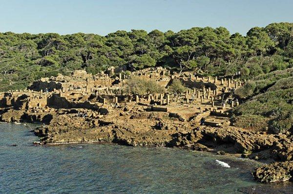 la ruine TIPAZA algérie