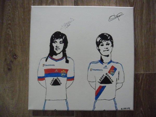 Louisa NECIB & Corine FRANCO -- Olympique Lyonnais 2010-2011