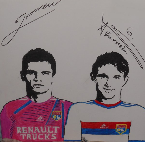 Dejan LOVREN & Kim KALLSTROM -- Olympique Lyonnais 2011-2012