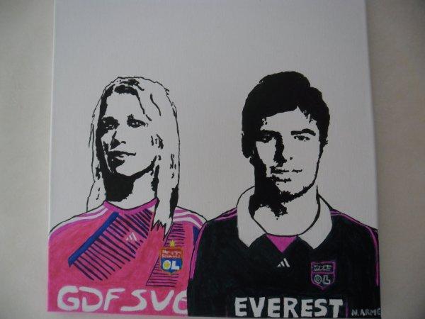 Lara DICKENMANN & Yoann GOURCUFF -- Olympique Lyonnais 2011-2012