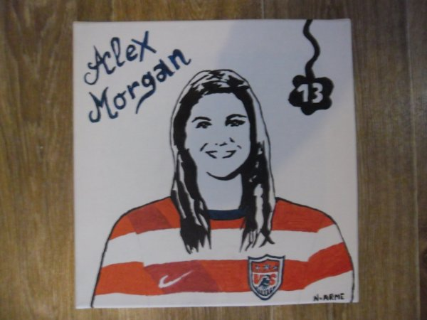 Alex MORGAN ------ > USA