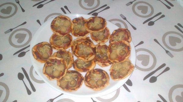 Mini Pizza Apéro Rapide