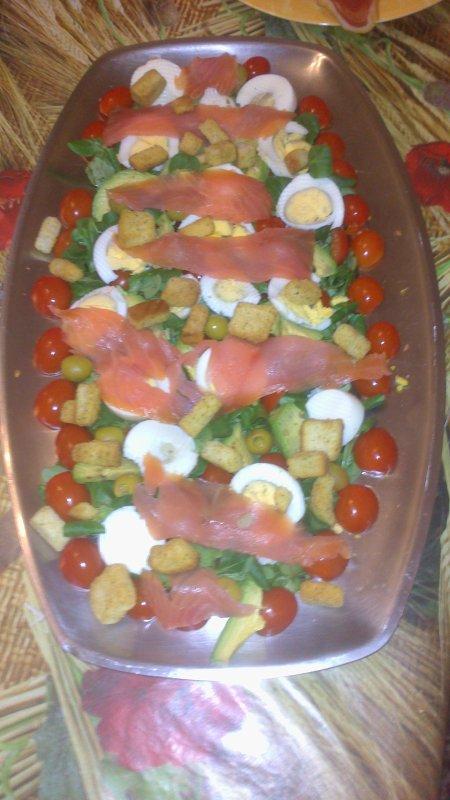 ---> Salade de la mer exprés !!!!!