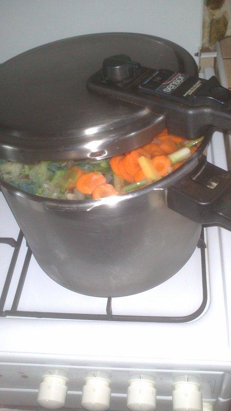 ☩ Soupe de légumes Maison ☩