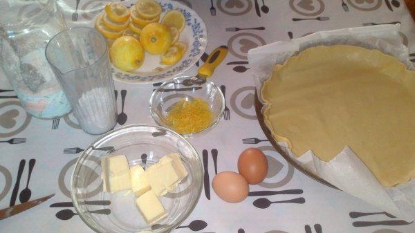 ٩(͡๏̯͡๏)۶  Tarte au citron ... !!