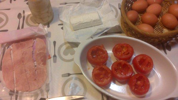 ₪₪ ¼ufs à l'italienne ₪₪