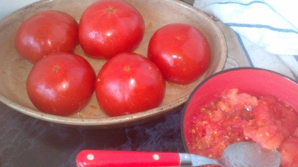 """"""".."""" Tomates et Courgettes Farcies """".."""""""