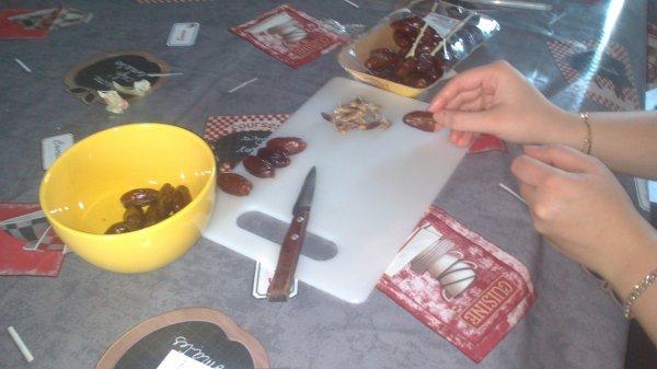 Dattes Lardées  (Menu Repas de Famille : Apéro 1/2)