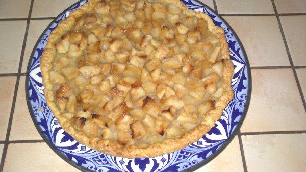 Tarte Normande (Menu Repas de Famille : Dessert )