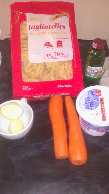 Paupiettes roulées de veaux a la crème et carottes
