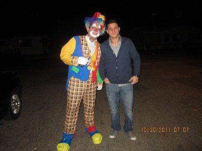 again mr. clown