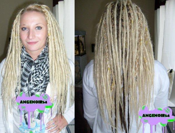 Nouvelle clientes avec mes dreads ^^