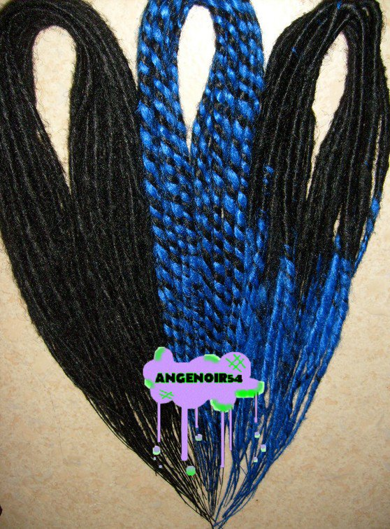 Nouvelles dreads synthétiques