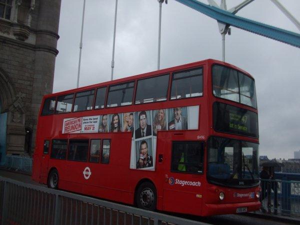 Les Fameux Bus Anglais Rouges :)