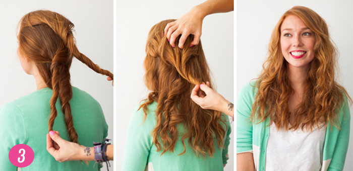 Coiffure n°17: beach waves