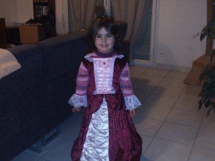 Ma petite princesse Enora