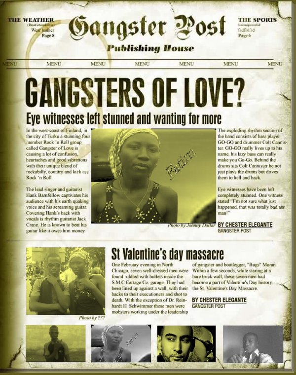 gangster of love