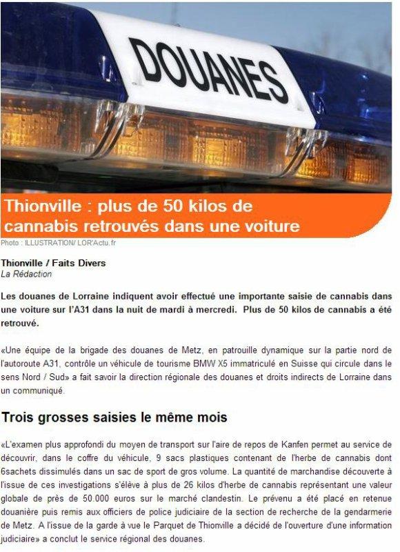 douanes thionville