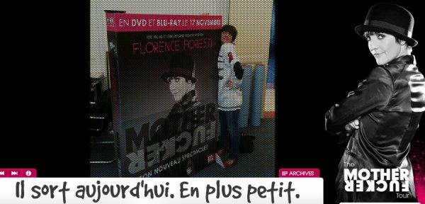 """Le """"MotherFucker"""" de Foresti enfin en DVD !"""