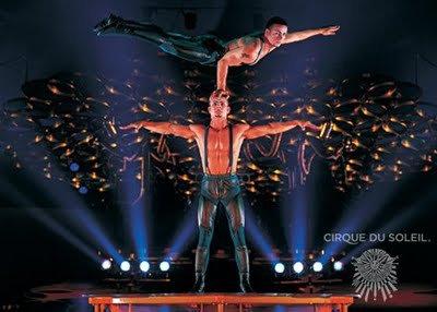 Le Cirque du Soleil depuis jeudi à Bercy !