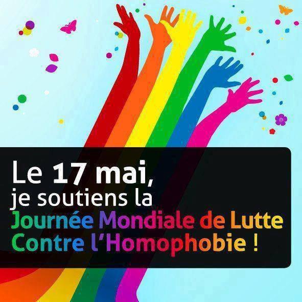 17 mai, journée internationale contre l'homophobie