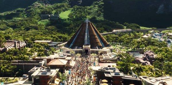 parc attraction jurassic world