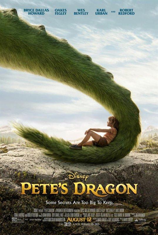 Peter et Elliott le Dragon - le film - signé Disney !