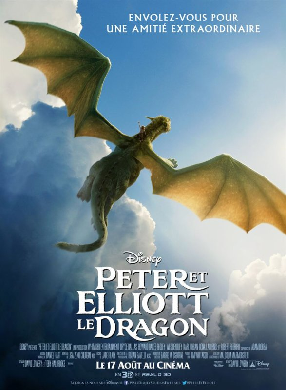 Peter et Elliott le Dragon - le film - signé Disney !