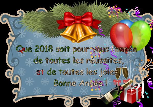 *** BONNE ANNEE 2018... ***