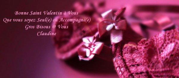 ♥ Bonne Saint Valentin... ♥