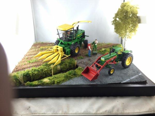 Diorama pour zwolle sur le stand MiniAgriPassion
