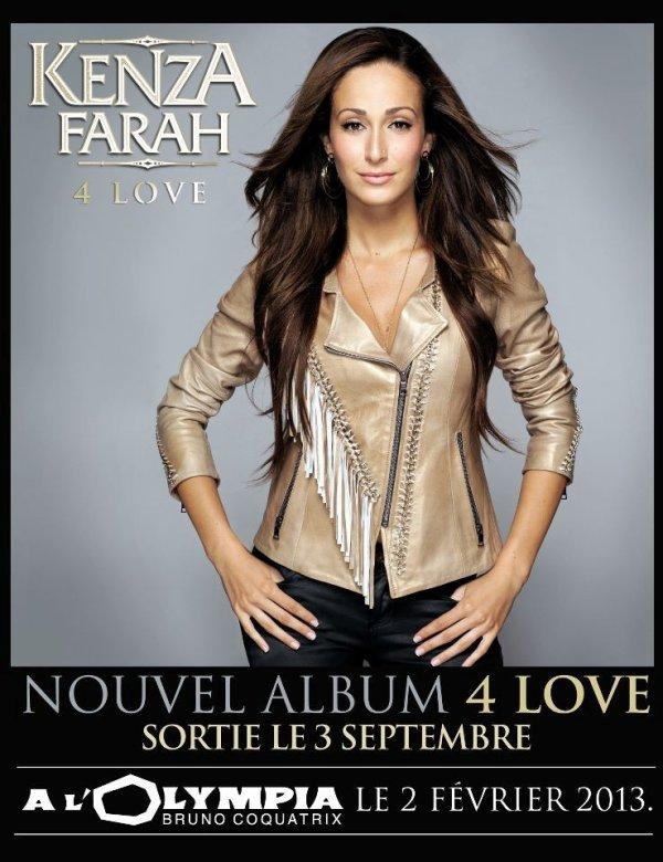 """"""" 4 Love """" dans les Bacs le 3 septembre !"""