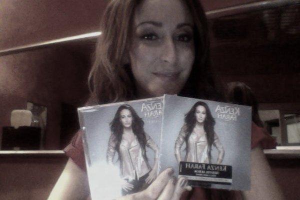 """JOUR J ! L'album """" 4 Love """" de Kenza Farah dans les bacs !"""