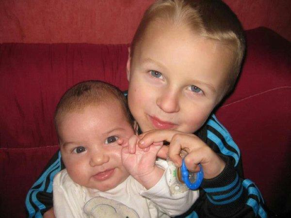 Mes deux enfants wael et ryan
