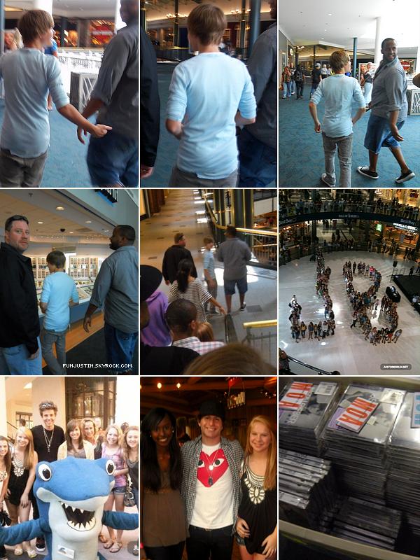 FunJustin revient avec une Nouvelle Version aux couleurs de l'Eté ☺! (Après une très très très ... longue absence.)  _________________________________________Découvrez des photos d'un Buyout organisé le 29/06 au Mall of America, Justin aussi y était !