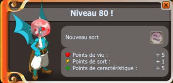 Enfin 80 !
