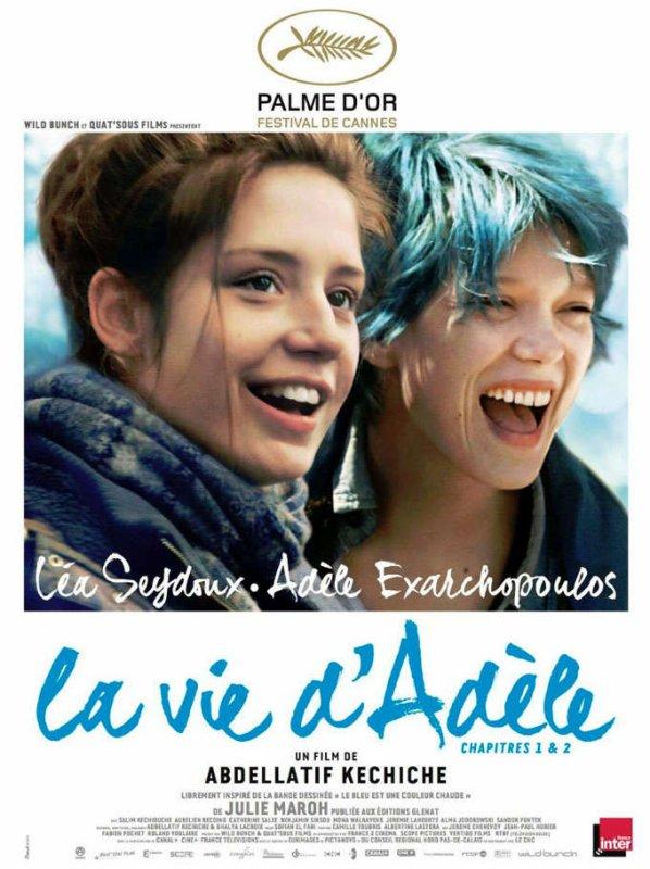 La vie d'Adèle : l'affiche officielle