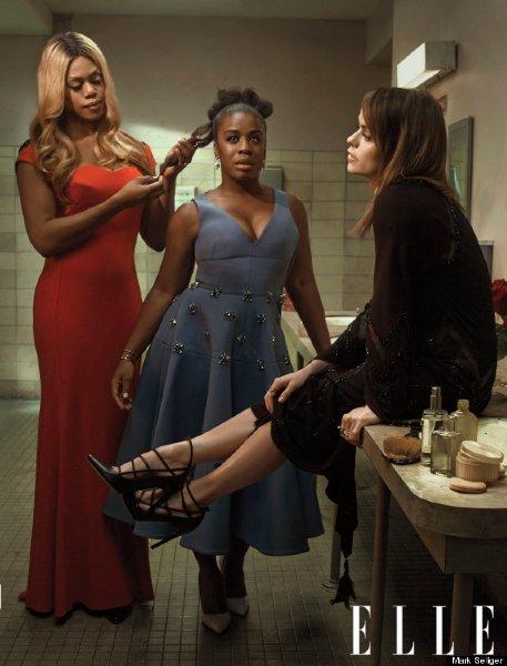 Orange is the new black : le shooting pour Elle