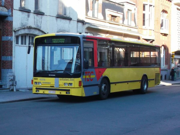 un bus dujardin qui travail pour keolis